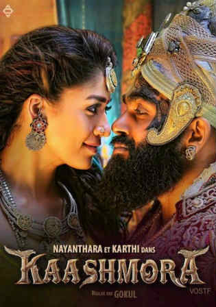Kaashmora 2017 HDRip 500MB UNCUT Hindi Dual Audio 480p Watch Online Full Movie Download bolly4u