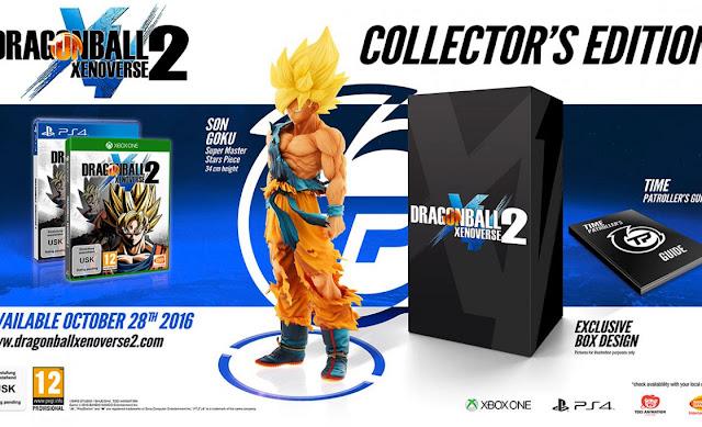 Collector Edition inclui todo o material anterior junto com um Guia Oficial de Patrulheiro do Tempo e uma figura de 34 cm da série Master Stars de Son Goku, e todo ele dentro de uma caixa de colecionador exclusiva.