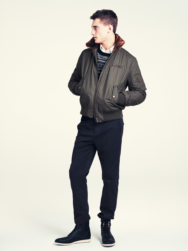 fashion amp beauty winter men modern clothing collection