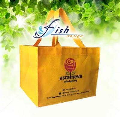 tas spunbond untuk nasi kotak, tas spunbond custom surabaya, jual tas spunbond eceran