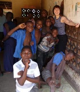 Amanda in Malawi