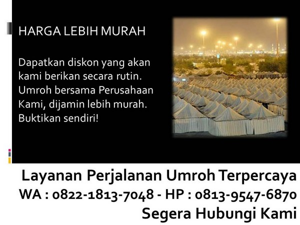 website first travel umroh bandung