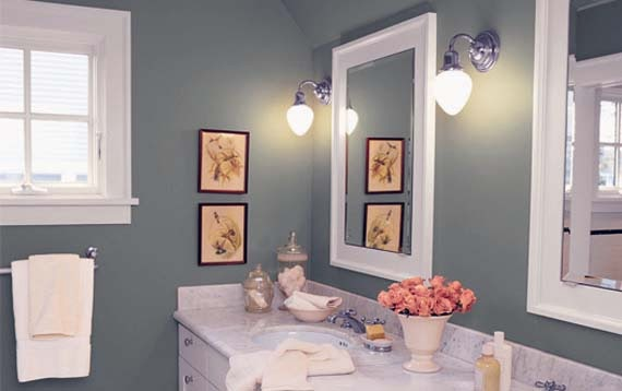 Bathroom Color Schemes for Small Bathrooms picture