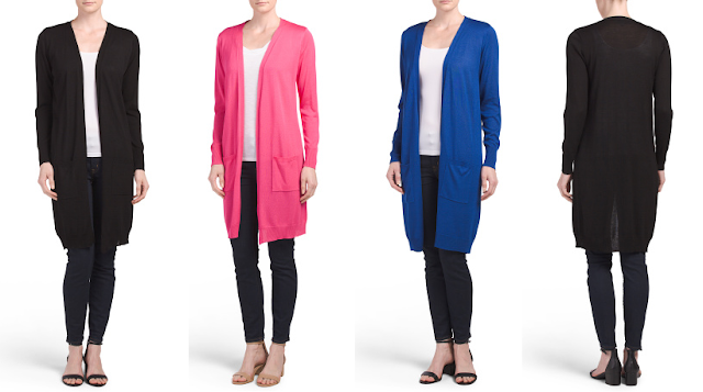 Joseph A Duster Cardigan $20 (reg $68) also available at Nordstrom Rack with new spring colors here