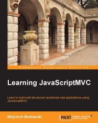 Learning JavaScriptMVC Cover