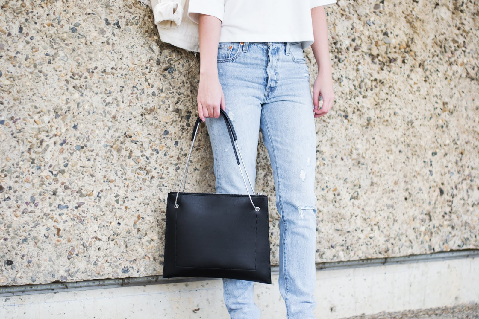 levi's vintage 501 Skinny jeans, Flippa k bag, SS17, zalando, outfit, vroenhoven, minimal
