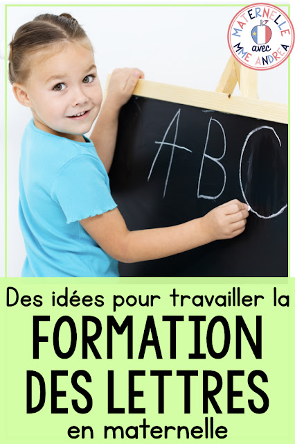 Learning letters and sounds is a MEGA important part of maternelle. If our students don't know their letters and their sounds, they will likely struggle to read and write. Check out this blog post for some fun ideas for helping your students learn their letter formation!