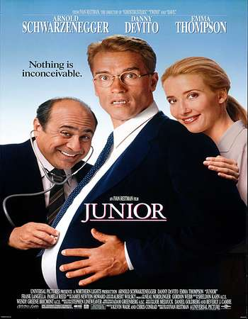 Junior 1994 Dual Audio 300MB BRRip 480p