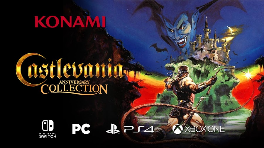 castlevania anniversary collection lineup release date
