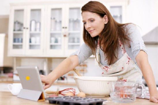 كيف يمكن للأيباد أن يساعدك فى المطبخ