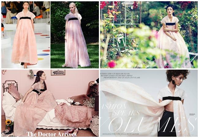 Chanel 水晶粉傳統韓服洋裝