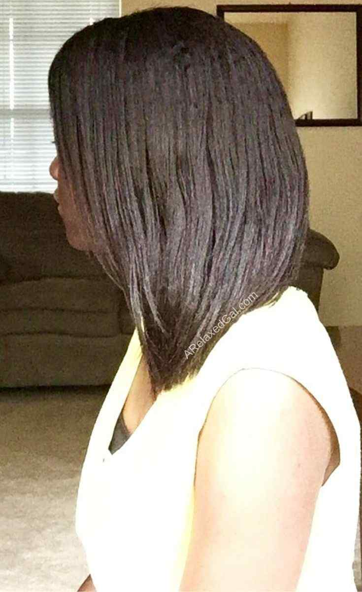 Achieving Smooth Hair After Relaxer Stretching For 9 Weeks | A Relaxed Gal