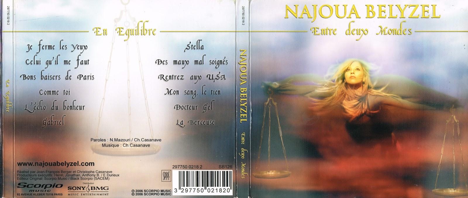album entre deux mondes najoua belyzel