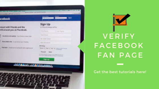 How To Verified Facebook Page<br/>