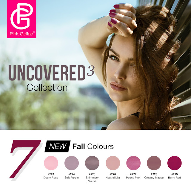 Uncovered 3 Pink Gellac Colección Otoño 2017