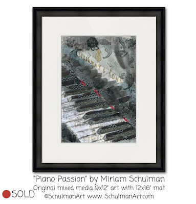 piano painting by miriam schulman | https://www.schulmanart.com