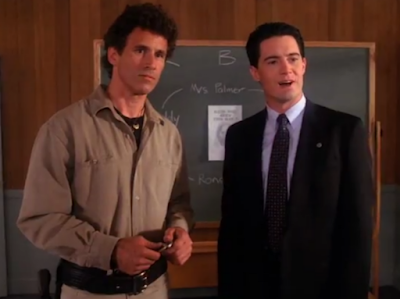 Twin Peaks 2x03 - The Man Behind The Glass - L'Uomo Dietro Al Vetro