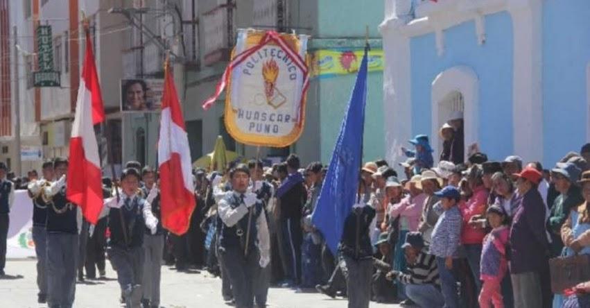 Suspenden desfile patrio en Puno por crisis en sistema de justicia