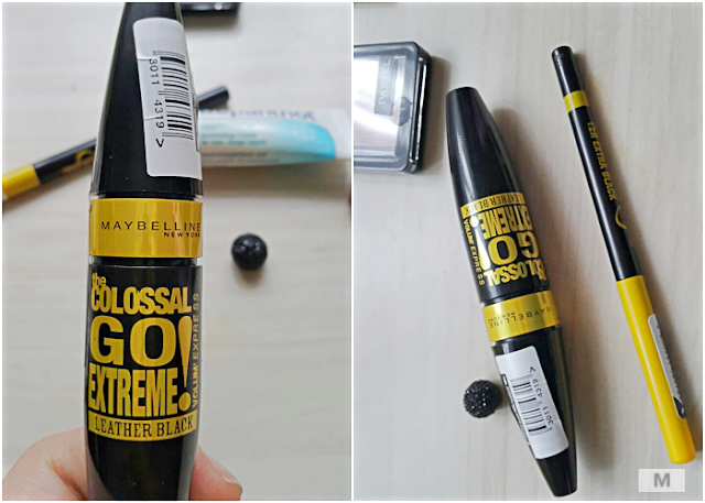Maybelline Kajal Göz Kalemi-The Colossal Go Extreme Leather Black Mascara