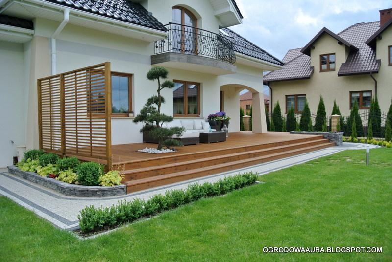 OGRODOWA AURA - o ogrodach na zdjęciach: DREWNIANE TARASY