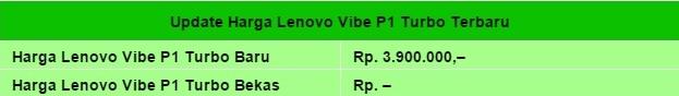 Harga HP Lenovo Vibe P1 Turbo Tahun 2017 Lengkap Dengan Spesifikasi, Layar 5.5 Inchi, Corning Gorilla Glass 3, Processor Quad Core