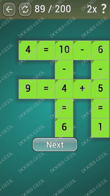 Math Games [Beginner] Level 89 answers, cheats, solution, walkthrough for android
