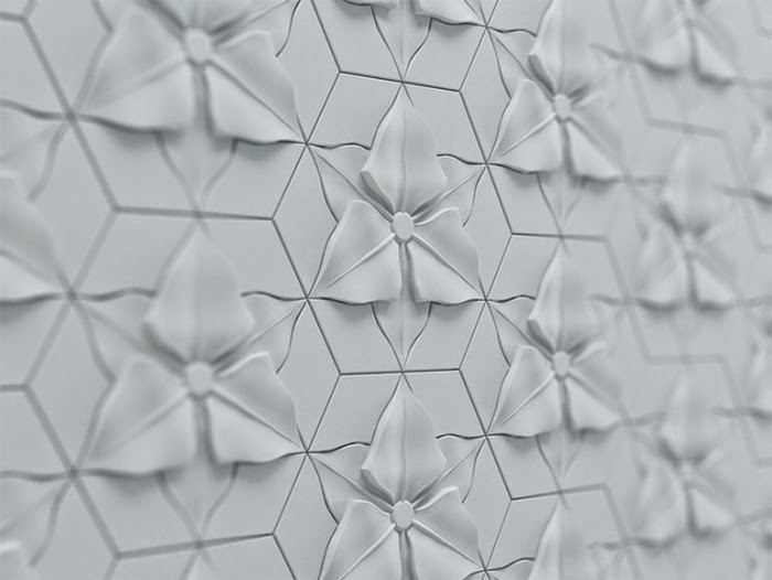 3D wall decoration, 3D decorative wall panels