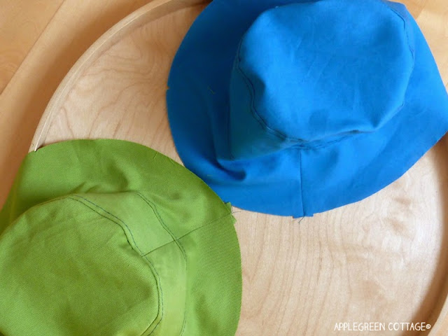 reversible bucket hat pattern