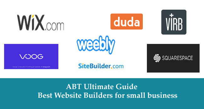 Ultimate Guide - Best Website Builders for small business 2017-18