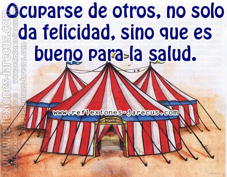 Cuando yo era adolescente, en cierta ocasión, estaba con mi padre haciendo fila para comprar entradas para el circo. Al final, solo quedaba una familia entre la ventanilla y nosotros.