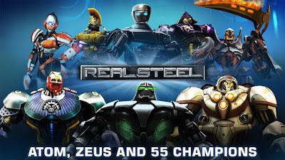 Real Steel HD v1.29.2 Mod+Apk (Mod Unlocked)