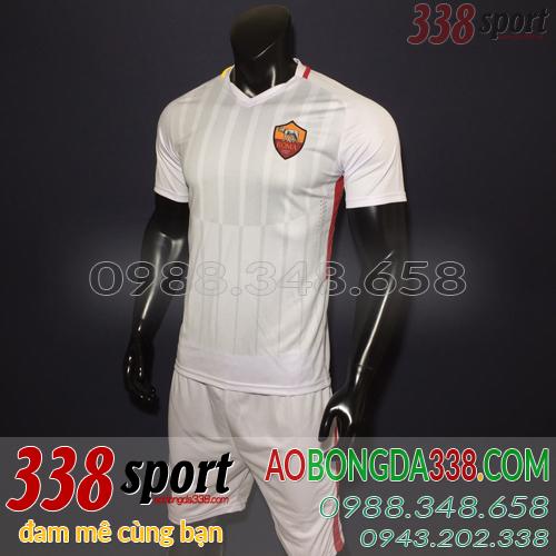 áo asroma trắng sân khách 2018