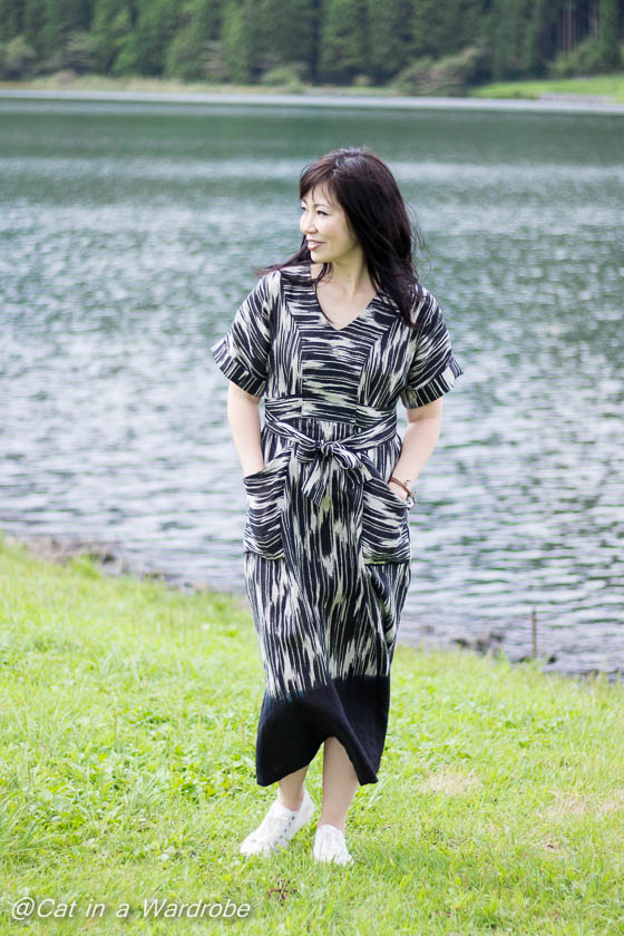 The Tea House Top and Dress from Sew House Seven