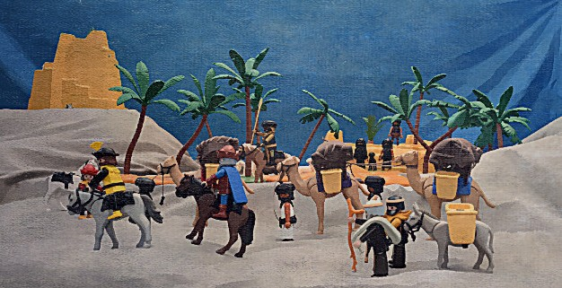 Marco Polo and the Silk Road custom Playmobil