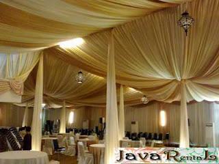 Sewa Tenda Dekorasi VIP - Sewa Tenda VIP Acara