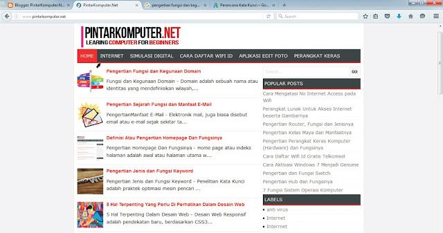 Pengertian Fungsi dan Kegunaan Hyperlink Dalam Internet