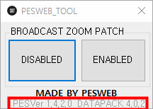 Camera ZOOM Disabler For PES 2019 Data Pack 4.0.2