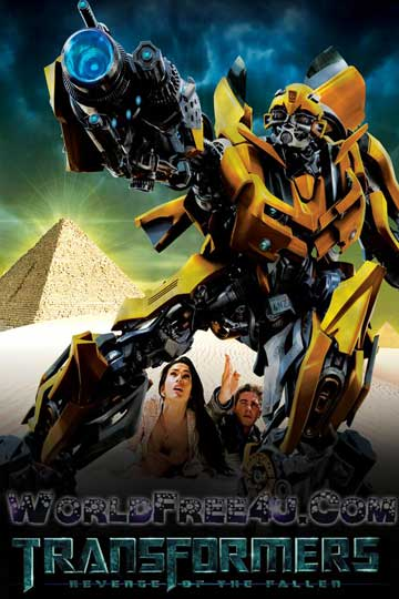 Poster Of Transformers 2 (2009) In Hindi English Dual Audio 300MB Compressed Small Size Pc Movie Free Download Only At worldfree4u.com