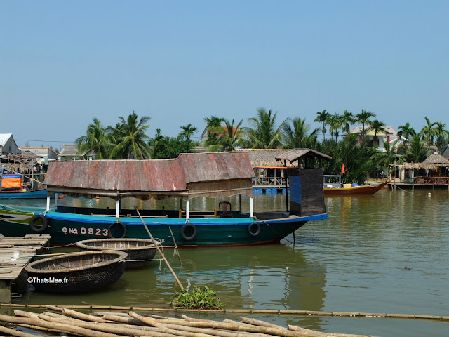 bateau port pecheur hoi an vietnam