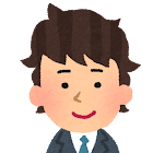 男性会社員の顔のアイコン3