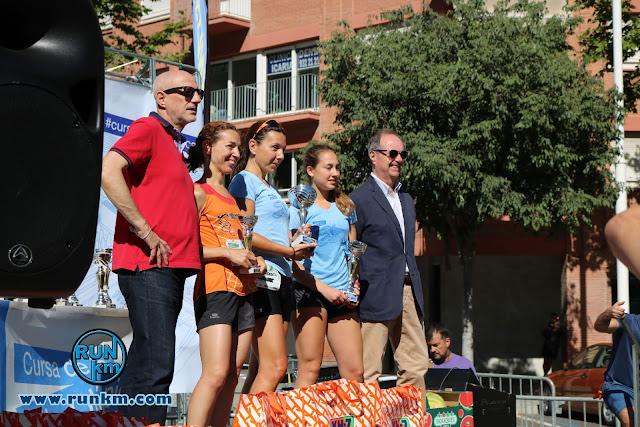Podio Femenino 10K - Cursa Vila Olímpica 2017