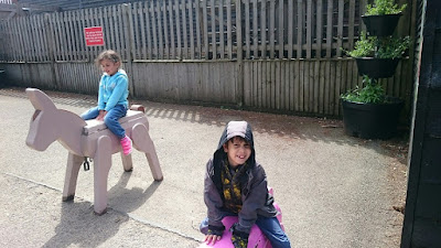 Children at Tilgate Park