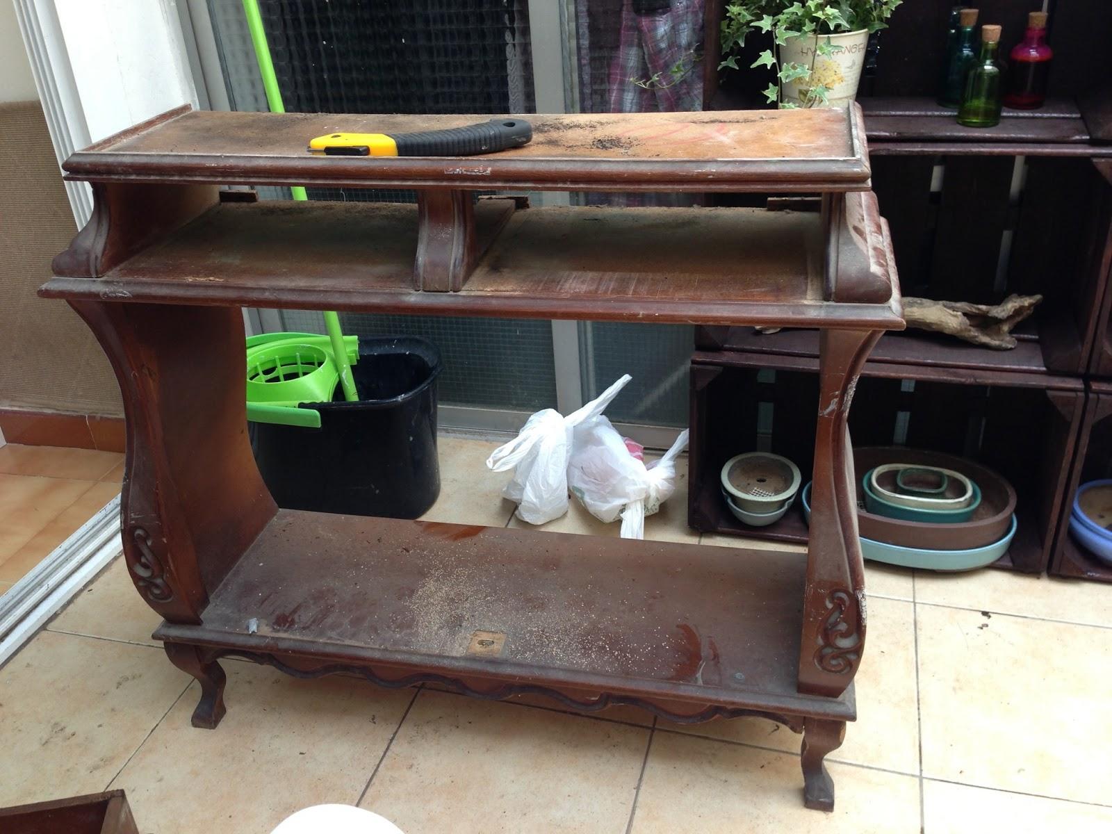 Decorando y renovando diy adoptando un mueble viejo - Como restaurar un mueble viejo ...