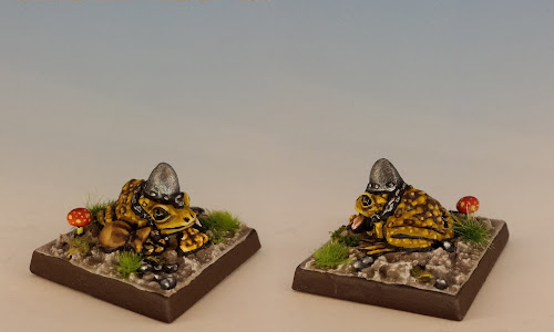 Talisman Warrior Toad, Citadel Miniatures (1986, sculpted by Aly Morrison)