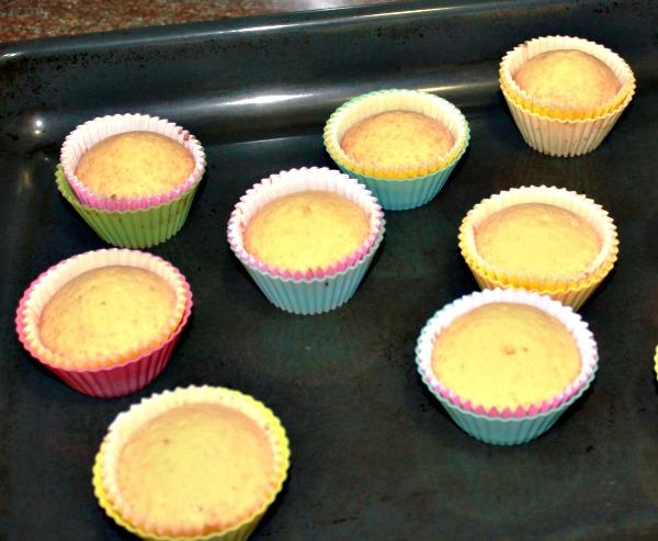 Elaboración cupcakes de frambuesa