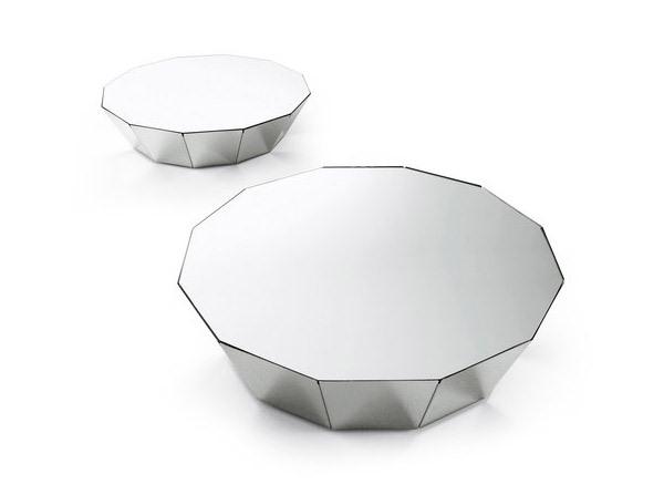 Berbagai Bentuk Meja Geometris Unik untuk Ruang Tamu Minimalis