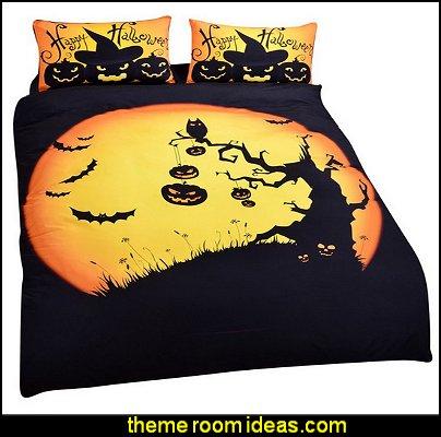 Halloween Bedding Set Funny Gift 3D Print Bedlclothes Soft Duvet Cover Set King Size