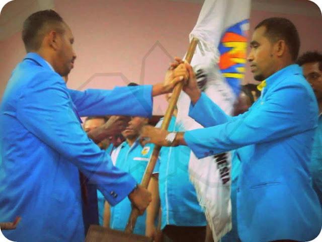 Ongen Hingko Layan Resmi Pimpin DPD II KNPI Kabupaten MTB Periode 2017 – 2020