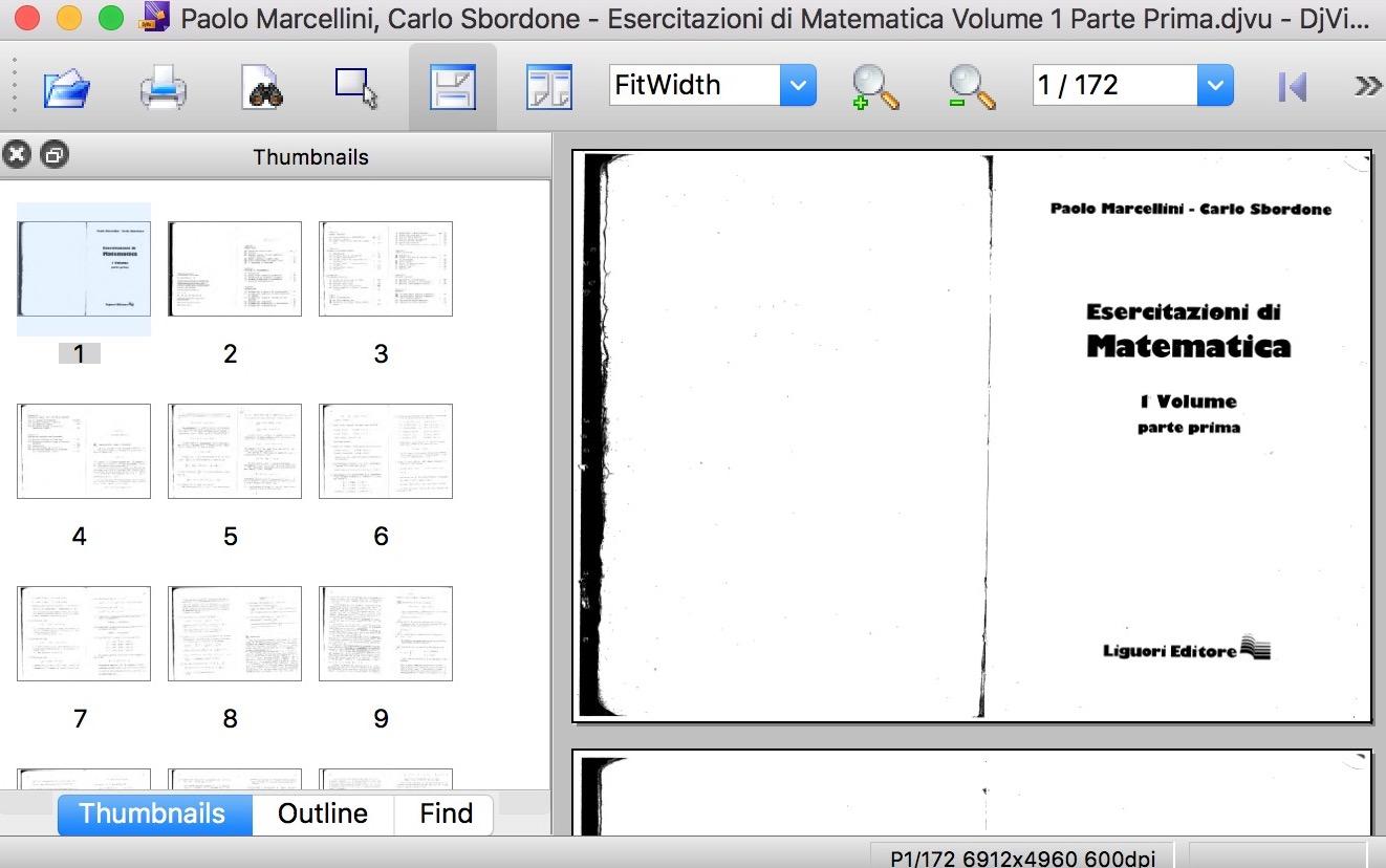 come aprire un file djvu con djview su mac