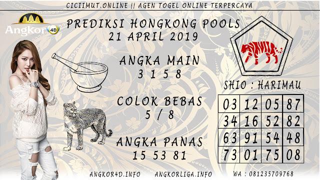 Prediksi Angka Jitu HONGKONG POOLS 21 APRIL 2019